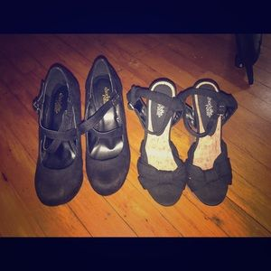 Size 7 Charlotte Russe Heels